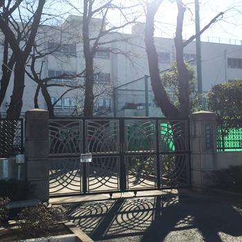 練馬区立田柄中学校:徒歩8分(約577m)