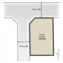 上井草3丁目 売地