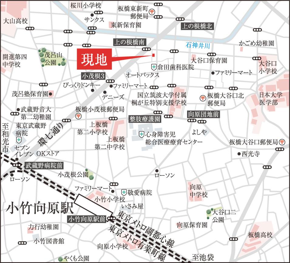 現地(地図)