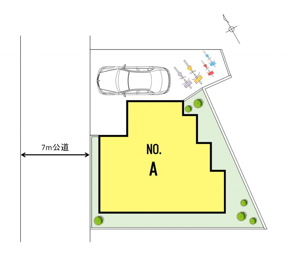 A号棟区画図