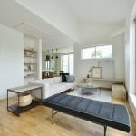 リビングダイニング 無垢床材の質感が伝わります。