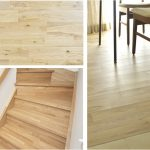 LDKや居室の床、廊下、階段、さらに手すりまで無垢材を採用。
