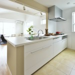 キッチン床には床暖房を完備(キッチン)